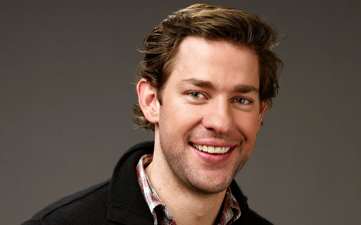 John Krasinski Actor A Quiet Place Tall handsome American film and television star John Krasinski is known for his role as sardonic nice guy Jim