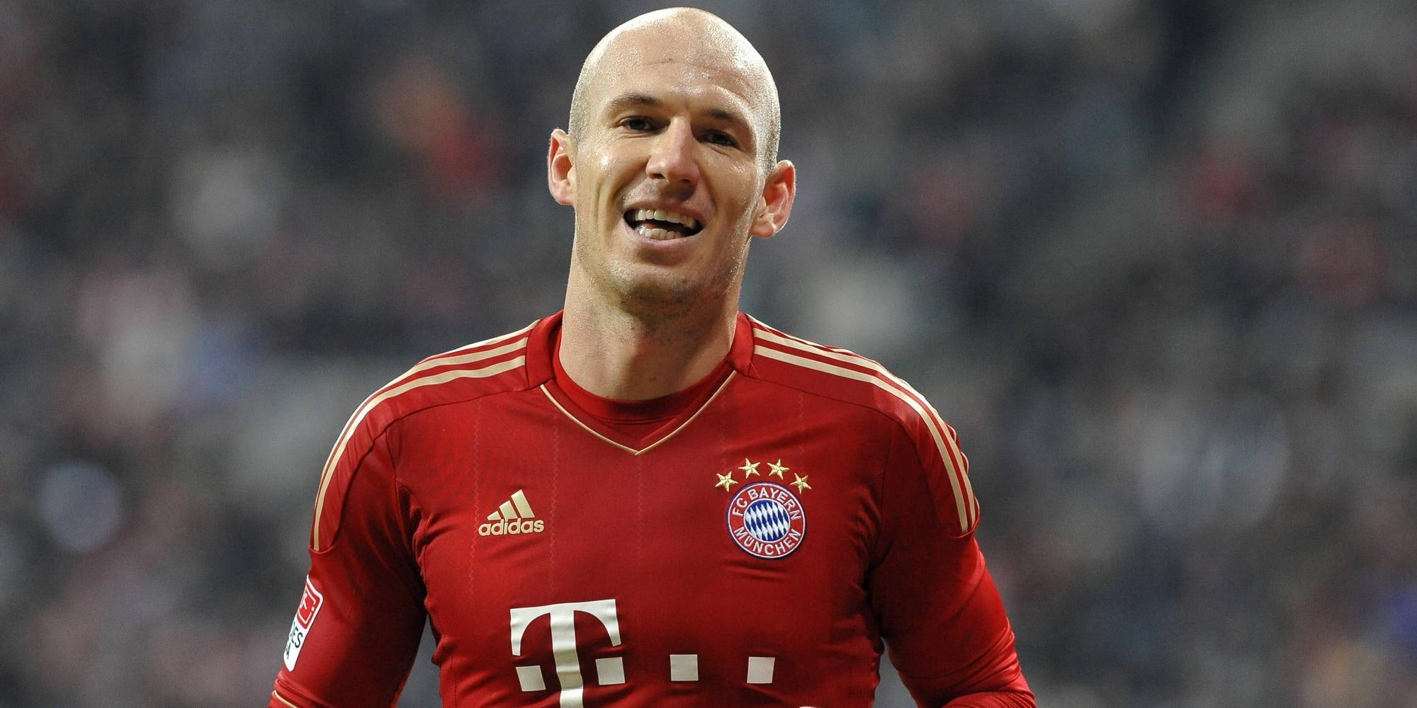 Arjen Robben Position
